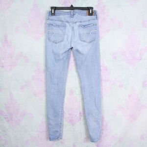 American Eagle Outfitters Jeans - American Eagle 6 Long Super Stretch Jegging Skinny